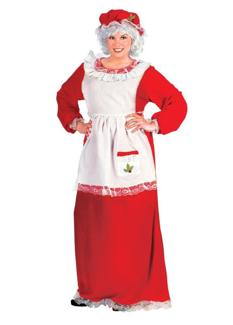 economy mrs. claus dress packaged